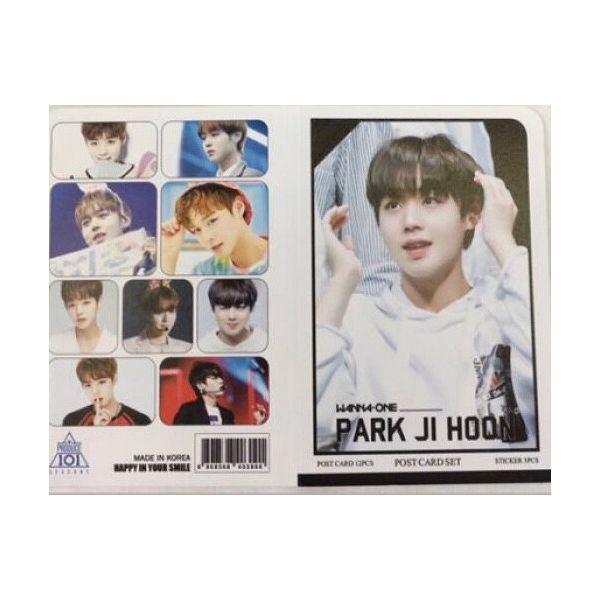 WANNAONE パクジフン WANNA ONE ポストカード& ステッカーセット 韓流 グッズ th043-2