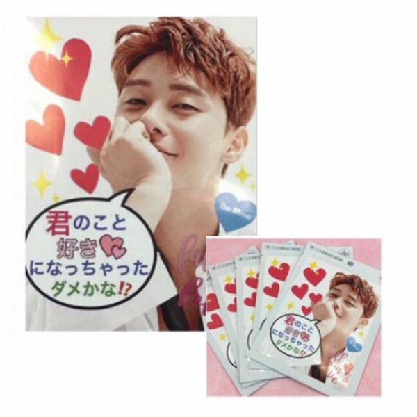 【送料無料】 パクソジュン パク・ソジュン マスクシート 5枚セット 韓流 グッズ as026-1