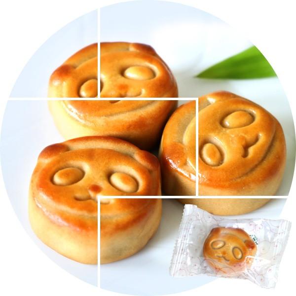 スイーツ パンダ お菓子 月餅 1個 あんこ 横浜中華街 焼きたて直送 バラマキ 個包装