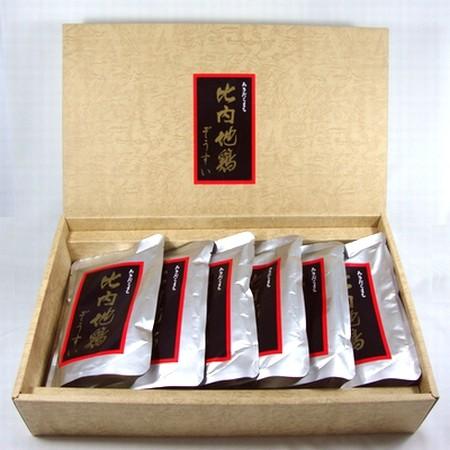 【メーカー直送品こまち】比内地鶏ぞうすい6袋ギフトセット/送料無料 /ギフト