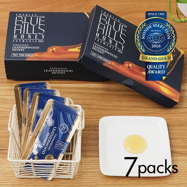 BLUE HILLS HONEY(ブルーヒルズハニー) タスマニアン レザーウッドハニー サシェ (7pcs入り) 蜂蜜 小分け | タスマニア レザー ウッ