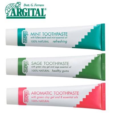 アルジタル グリーンクレイ歯みがき ミント・セージ・アロマティック 75ml | 歯磨き粉 歯磨粉 はみがき粉 ハミガキ粉 ハミガキ はみがき