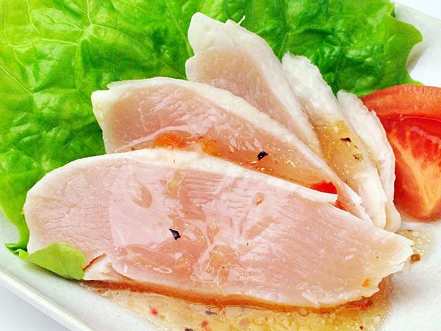 松阪ハム)健味鶏の生ハム風タタキ約250g 【同梱・北海道・沖縄不可】【送料無料】