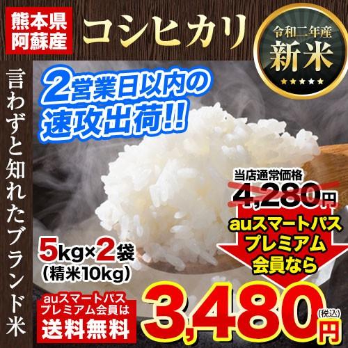 米 お米 10kg 10キロ 新米 5kg ×2で便利 速攻出荷 令和2年産 コシヒカリ 精米 白米 2営業日以内出荷(土日祝除)