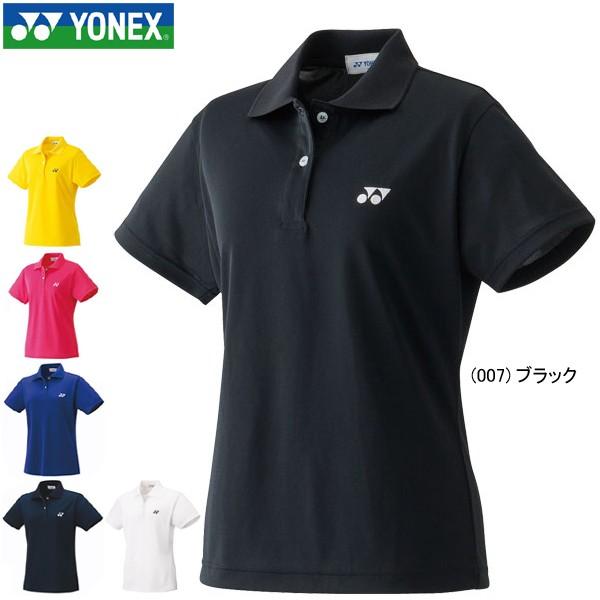 メール便送料無料 ヨネックス ポロシャツ 半袖 YONEX レディース ゲームシャツ スポーツウェア ソフトテニス バドミントン 20300