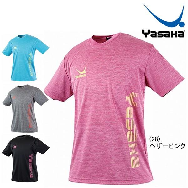 メール便送料無料 ヤサカ Yasaka ロゴにゃんこTシャツ 半袖 メンズ レディース 男女兼用 卓球アパレル Y851