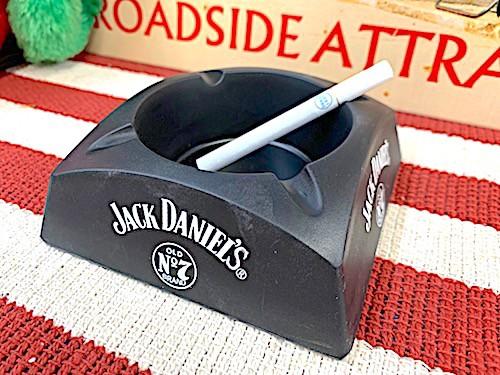 アメリカン雑貨 灰皿 アッシュトレイ JACK DANIELS ジャックダニエル ウイスキー パブ バー グッズ 店舗 ガレージ