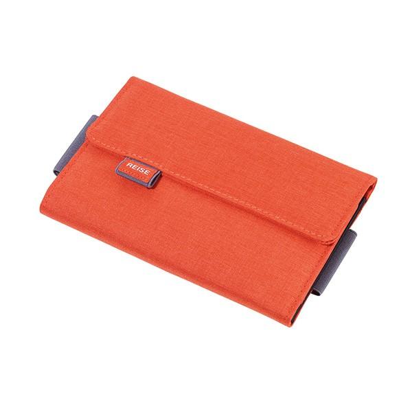 TROIKA(トロイカ) オーガナイザーケース、ライゼビューロ、オレンジ TR-TRV55/OR ( 仕分け ポケット仕分け 小物ポーチ スマホケース