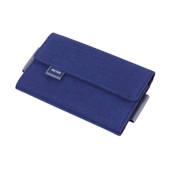TROIKA(トロイカ) オーガナイザーケース、ライゼビューロ、ブルー TR-TRV55/DB ( 仕分け ポケット仕分け 小物ポーチ スマホケース 小