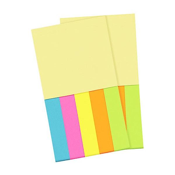 FLIP MEMO(フリップメモ) 付箋ノートリフィル2個組 FM-4004 ( ペン付きメモ帳 ペン付きメモ ペン付きメモノート メモ帳 手帳 ノート
