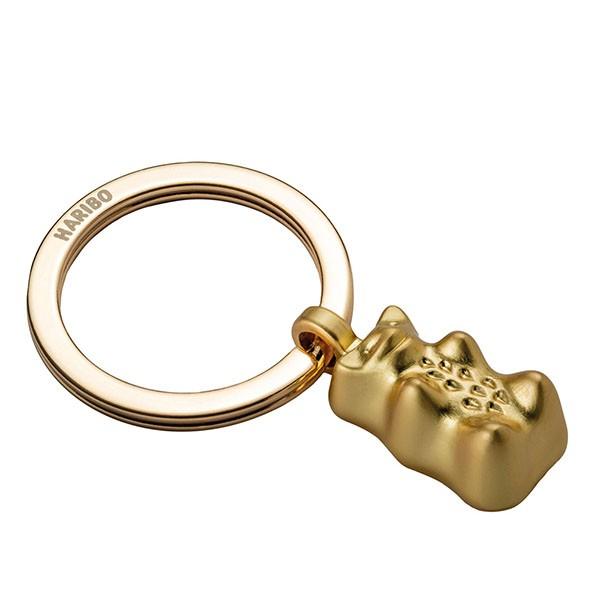 TROIKA(トロイカ) キーリング、ハリボー、ゴールドベア、ゴールド TR-HB-K01-GO キーホルダー バッグチャーム