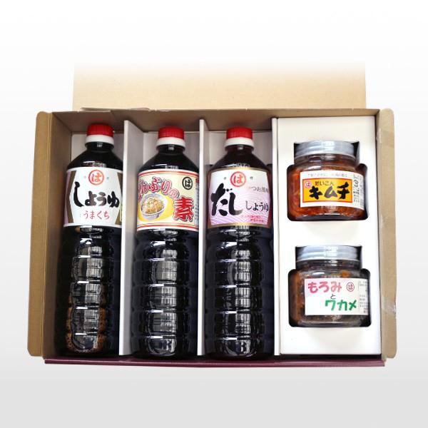 【朝倉調味料株式会社】(福岡県朝倉市) 調味料・ご飯のお供セット