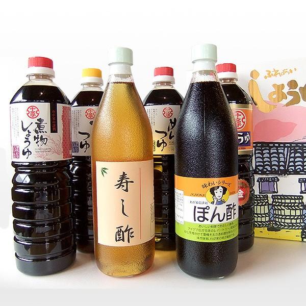 【十文字醤油】(福岡県朝倉市) 十文字醤油バラエティ6本セット
