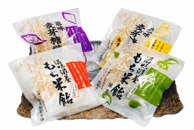 【元祖 徳永飴総本舗】徳永飴(あめがた)8枚-4袋セット