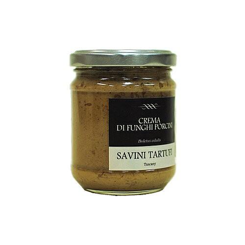 ポルチーニのクリーム 500g(サヴィーニ タルトゥーフィ) Crema di funghi porcini / Savini Tartufi※写真画像は180gのビンです