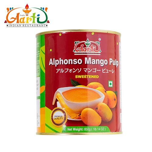 神戸アールティー Aarti アルフォンソ マンゴーピューレ 850g × 3缶