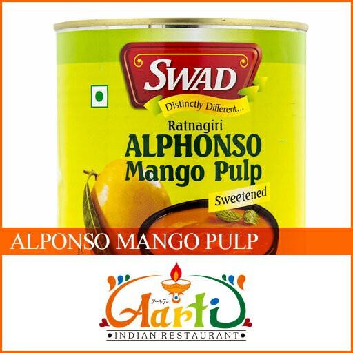 SWAD アルフォンソマンゴーピューレ 850g×12缶(1ケース)【送料無料】 【インド産】【業務用】【通常便】【缶】【Pulp】