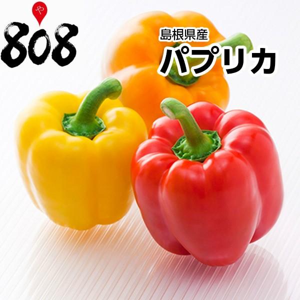 【島根県産】パプリカ 1個 約180g【野菜詰め合わせセットと同梱で送料無料】【送料別】