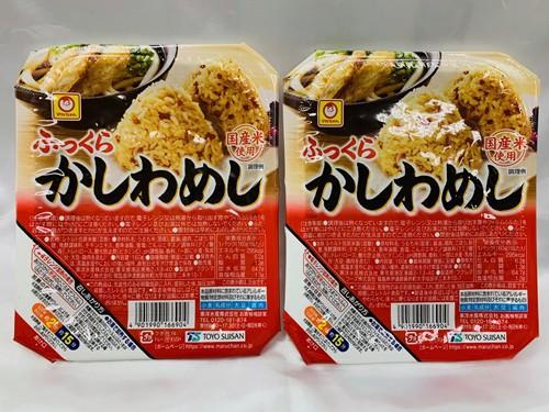 送料無料! 東洋水産 マルちゃん ふっくら かしわめし レトルト ごはん 鶏肉・ごぼう入り 国産米使用 160g×2パック 40651