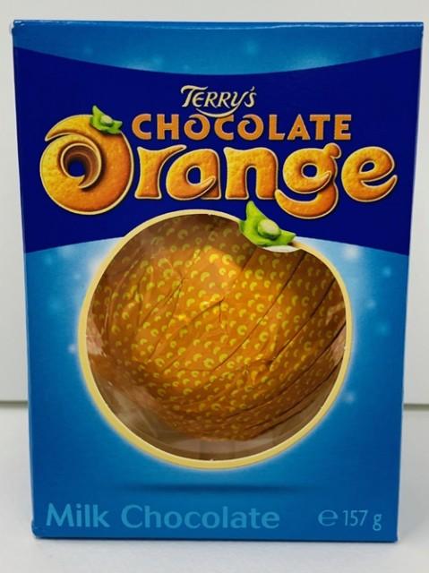 テリーズ チョコレート オレンジチョコレートミルク 157g 1個  46155