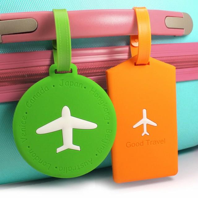 ネーム タグ スーツケース ラゲージ トラベル 旅行 用品 名札 カラフル