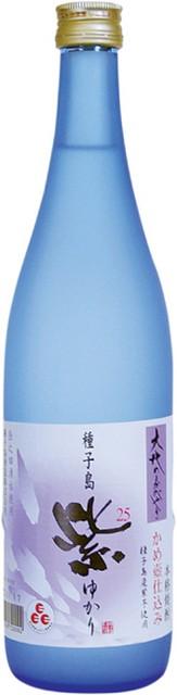 種子島酒造 大地のかがやき紫(ゆかり)16度 720ml 芋焼酎