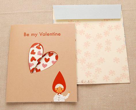 Shinzi Katoh シンジカトウ 【カードhood バレンタイン】(グリーティング メッセージ 手紙 キャラクター かわいい 寄せ書き 童話 赤ずき