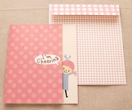 Shinzi Katoh シンジカトウ 【カードkids ファイト】(グリーティング メッセージ 応援 手紙 かわいい 頑張れ キャラクター 受験)