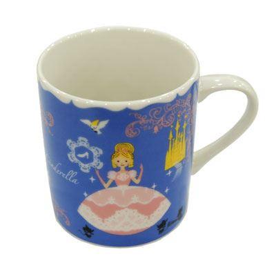 Shinzi Katoh シンジカトウ 【ドリームストーリー マグ シンデレラ】(かわいい ギフト セット 子供 小さい ガラス 食器 おしゃれ コップ