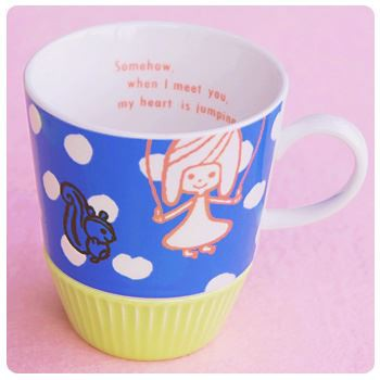 Shinzi Katoh シンジカトウ 【ダンダン マグ jump】(かわいい ギフト セット 子供 食器 おしゃれ カップ コーヒー カフェ 動物 北欧 くま