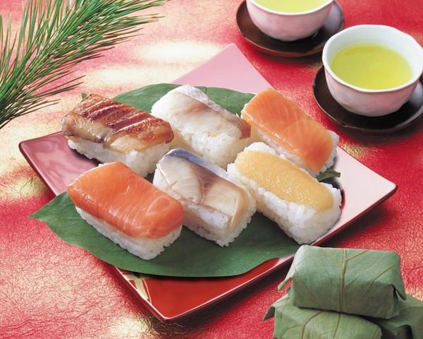 お歳暮 グルメ ギフト 柿の葉寿司(六彩) (AD)