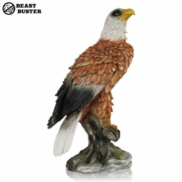ミスターイーグル 置物 鳥害 鷹 鷲 タカ ワシ カラスやスズメなどの野鳥に効果絶大 ムクドリ 鳥よけ 害鳥 鳥獣駆除 害獣駆除 対策 ゴミ置