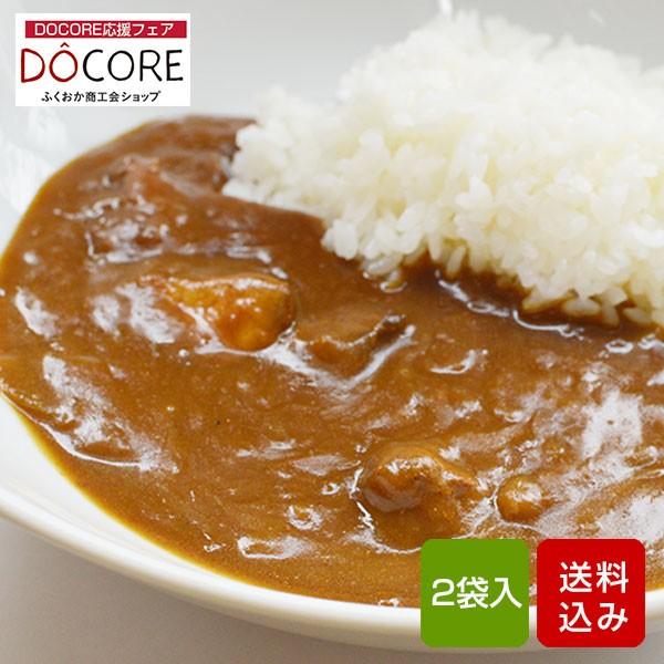 古処鶏和風カレー 2食入 レトルト sabzi DOCORE応援 メール便