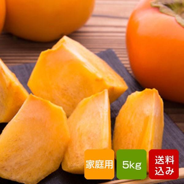 柿 5kg 富有柿 家庭用 秀品 2L お歳暮 年末年始