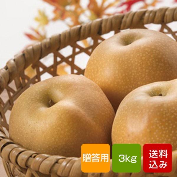 梨 日迎 秀品 3kg 贈答用 特別栽培 福岡県朝倉産 お中元 ギフト 送料無料