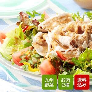 九州野菜とお肉セット