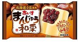 丸永製菓 あいすまんじゅう 和栗 20個入 アイスクリーム