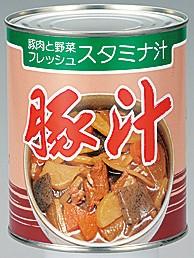 ゆのたに 豚汁 2号缶(内容量820g)2缶セット 送料無料(北海道・九州は除く沖縄離島不可)