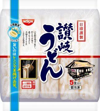 日清食品 冷凍 謹製讃岐うどん 5食入×8袋入