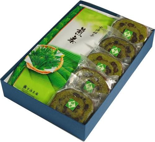 スイーツ お菓子セット宇治茶 ロールケーキセット