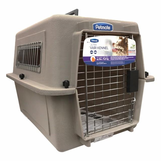 ペットメイト ウルトラ バリケンネル 15lbs (6.8kg) S トープ 犬猫用