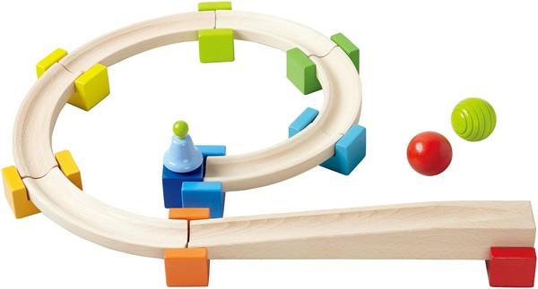 HABA ハバ社 木のおもちゃ ドイツ製 ベビークーゲルバーン 木製玩具 知育玩具 スロープトイ スロープおもちゃ 1歳 2歳 3歳 誕生日