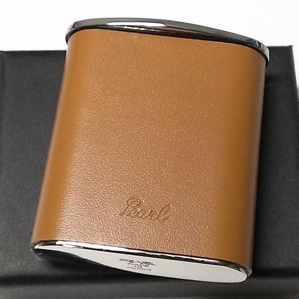 携帯灰皿 おしゃれ タスカ キャメル レザー 日本製 PEARL 牛本革 茶 国産 ブランド メンズ レディース プレゼント ギフト 屋外