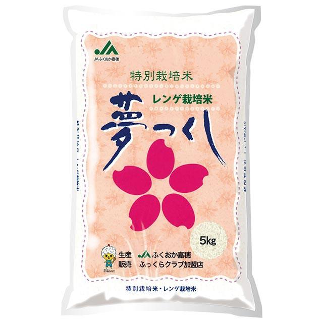 夢つくし 特別栽培米 5kg 送料無料 福岡県 令和元年産 (米/白米 5キロ)