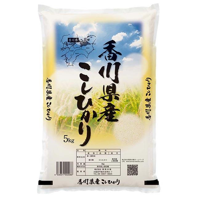 コシヒカリ 5kg 送料無料 香川県 令和元年産 (米/白米 5キロ)