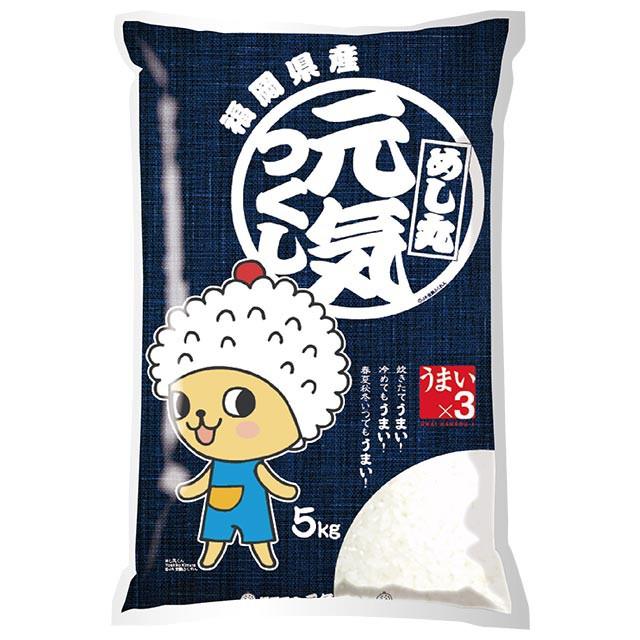 元気つくし 特別栽培米 5kg 送料無料 福岡県 令和元年産 (米/白米 5キロ)