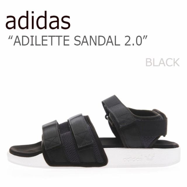 13dd065e33d1 送料無料 アディダス サンダル adidas メンズ レディース ADILETTE SANDAL 2.0 アディレッタ サンダル BLACK ブラック  AC8583 シューズ アディダス サンダル adidas ...