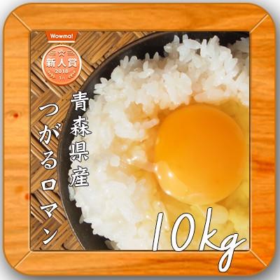 【1年産 青森県産 つがるロマン 白米10kg(5kg×2)】 安い 小分け 米 10キロ 送料無料 人気 お米 精米