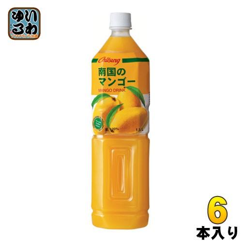 チルソン 南国のマンゴー 1.5L ペットボトル 6本入