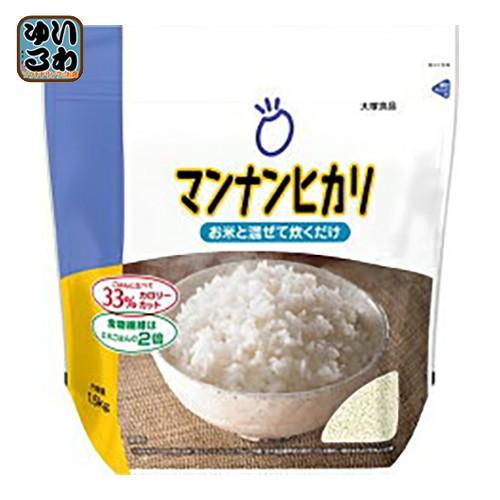 大塚食品 マンナンヒカリ通販用 1500g 6袋入